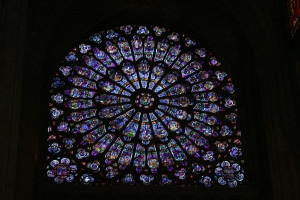 Alyssa's picture of the Rose Window