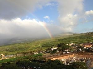 Rainbow over Maui