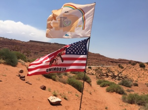 Navajo Nation flags